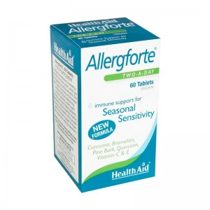 HEALTH AID Allergforte tablets 60's