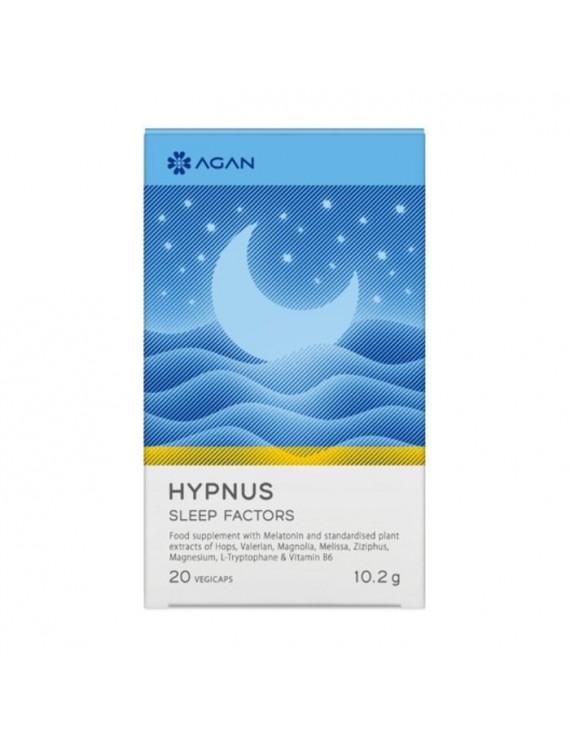 Agan Hypnus Sleep Factors 20 φυτικές κάψουλες