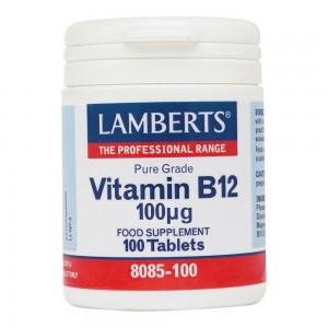 Lamberts Vitamin B-12 100mcg 100 tbs