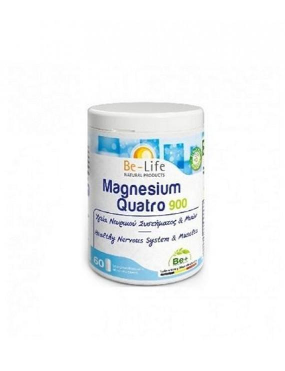Be-Life Magnesium Quatro 900 60 κάψουλες