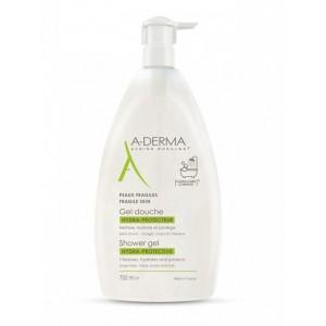 A-Derma Shower Gel Hydra-Protective Αφρόλουτρο για Ευαίσθητες Επιδερμίδες, 750ml