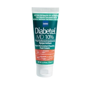 Intermed Diabetel MD cream 10% Κρέμα Εντατικής Ενυδάτωσης για τα Πόδια με Ουρία 10%, 75ml