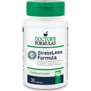 Doctor's Formula StressLess Formula Συμπλήρωμα Διατροφής, Φόρμουλα για τη Φυσιολογική Ψυχολογική Λειτουργία 30Caps.