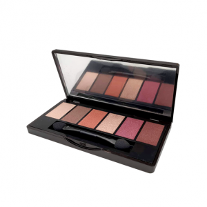 Korres Volcanic Minerals The Ruby Nudes Eyeshadow Palette Παλέτα Σκιών 1Τμχ.