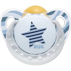 Nuk Trendline Adore Ορθοδοντική Πιπίλα Καουτσούκ 6-18m [10733320]