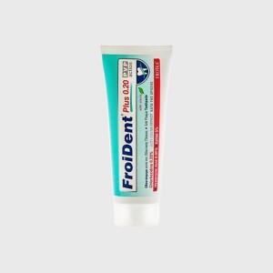FROIDENT PLUS 0,2 PVP action Οδοντόκρεμα κατά της οδοντικής πλάκας με χλωρεξιδίνη 0,2% 75ml