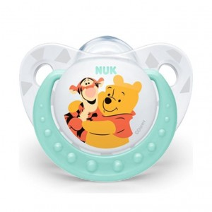 Nuk Disney Πιπίλα Σιλκόνης με Θήκη 6-18 μηνών, 1 τεμάχιο