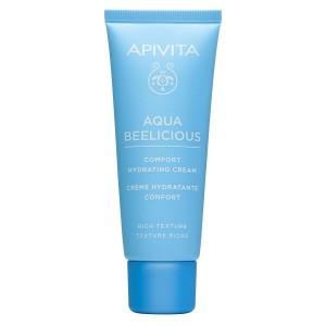 Apivita Aqua Beelicious Comfort Hydrating Cream Κρέμα Ενυδάτωσης Πλούσιας Υφής, 40ml