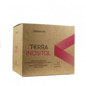 Genecom Terra Inositol Συμπλήρωμα διατροφής με Ινοσιτόλη για τη ρύθμιση της λειτουργίας των ωοθηκών, 30 sachets