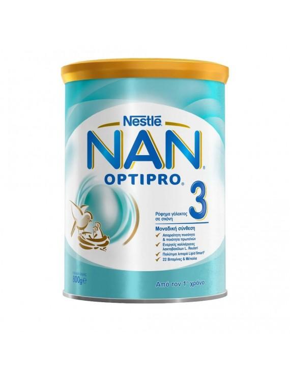 Nan Optipro 3 Παιδικό Γάλα, 800gr