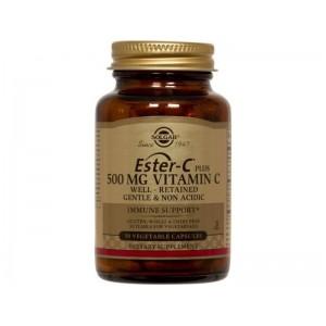 SOLGAR  Ester-C plus Vitamin C 500mg - 50caps