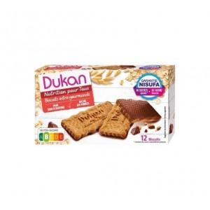 Dukan Expert Μπισκότα Βρώμης με επικάλυψη σοκολάτας, 200gr (4 x 50gr) -