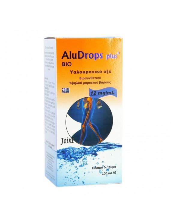 ALUDROPS (ΥΑΛΟΥΡΟΝΙΚΟ ΟΞΥ ΣΕ ΠΟΣΙΜΟ ΔΙΑΛΥΜΑ) 100ml