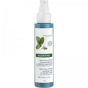 Klorane Anti-Pollution Purifying Mist with Aquatic Mint Καθαριστικό Σπρέι Μαλλιών, 100ml