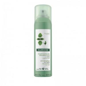 KLORANE Shampooing Sec Seboreducteur a l'Ortie - Ξηρό σαμπουάν (150ml) / Για λιπαρά μαλλιά