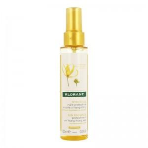 Klorane Ylang-Ylang Oil Ylang-Ylang για θρέψη & αντηλιακή προστασία 100ml