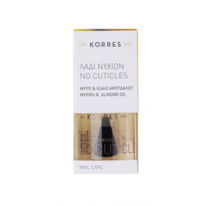 Korres No Cuticles Λάδι Νυχιών κατά των Παρανυχίδων με Μύρο & Έλαιο Αμυγδάλου 10ml