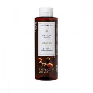 Korres Argan Oil Post Colour Shampoo 250ml (Σαμπουάν Για Μετά Τη Βαφή)