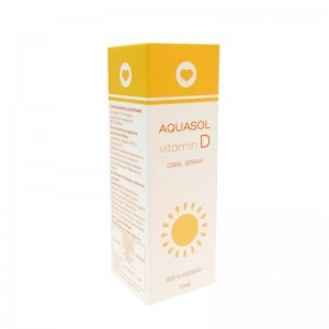 Aquasol Vitamin D 400 IU Oral Spray 15 ml