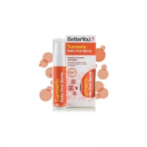 BetterYou Turmeric Daily Oral Spray 1300mg 25ml