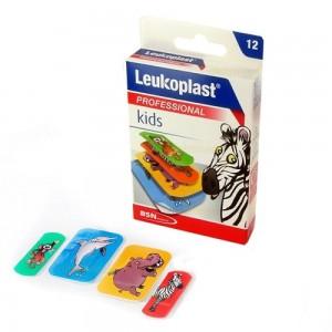 Leukoplast Kids 2 μεγέθη 12τεμ (Παιδικά Αυτοκόλλητα Επιθέματα για Μικροτραυματισμούς)
