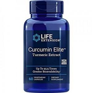 Life Extension Curcumin Elite 60 Veg Caps