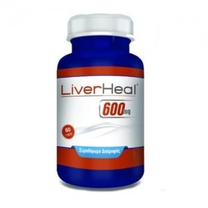 Lipoact MaxiHeal Liverheal 600mg 60 κάψουλες