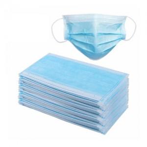 FaceMask (3ply)Για Προστασία από Μεταδιδόμενες Ασθένειες μέσω του Αναπνευστικού Συστήματος.50τμχ