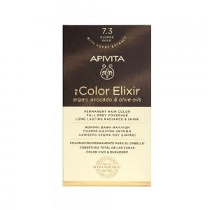 Apivita My Color Elixir N 7.3 (Βαφή Μαλλιών - Ξανθό Μελί Χρώμα)