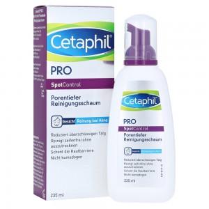 Cetaphil Pro SpotControl Cleansing Foam Αφρός για Βαθύ Καθαρισμό Προσώπου για Δέρμα με Τάση Ακμής, 235ml