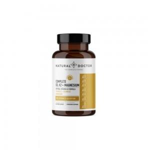 Natural Doctor Complete D3 K2 & Magnesium 60caps (Συμπλήρωμα Διατροφής με Βιταμίνη D3, K2 & Μαγνήσιο)