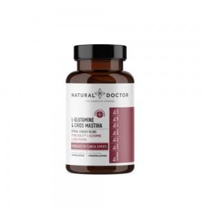 Natural Doctor L-Glutamine & Chios Mastiha 90caps (Γαστρεντερικές Διαταραχές - Ευαίσθητο Στομάχι)