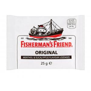 Fisherman's Friend Original Καραμέλες με Γεύση Μινθόλης & Ευκαλύπτου 25g