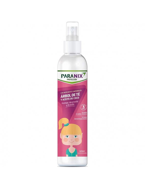 Paranix Protection Spray Αντιφθειρικό Μαλακτικό Σπρέι με Έλαιο Τσαγιού & Καρύδας για Κορίτσια, 250ml