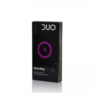 DUO Retarding Προφυλακτικά με Επιβραδυντικό, 6 τεμάχια