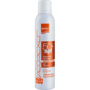 Intermed Suncare Antioxidant Sunscreen Invisible Spray Water Resistant SPF50+ 200ml