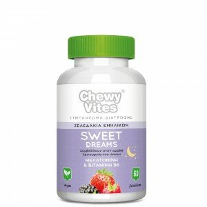 Vican Chewy Vites Adults Sweet Dreams 60 ζελεδάκια(Melatonin)