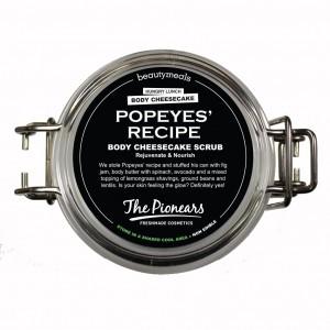 The Pionears Popeyes Recipe Body Scrub 200ml.Aναπλάθει τα κύτταρα της επιδερμίδας , προσφέρει ρόδινη, διακριτική λάμψη