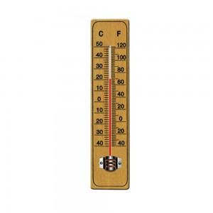 Θερμόμετρο ξύλινο, εσωτερικού χώρου