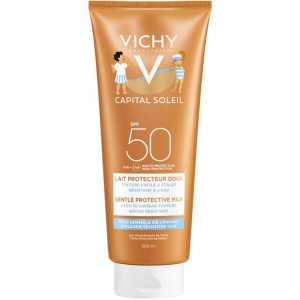 VICHY CAPITAL SOLEIL FOR CHILDREN SPF 50+ 300ml,Αντιηλιακό Γαλάκτωμα για Παιδιά,Προστασία σε βάθος 300ml