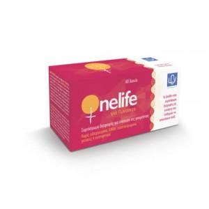 OneLife για Γυναίκες, Βιταμίνες για την Γυναικεία Υπογονιμότητα, Αγωγή για 1 Μήνα, 60 Tabs