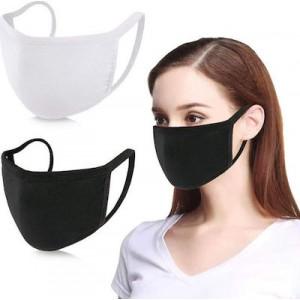 ΠΝΟΗ Διπλή Μάσκα Υφασμάτινη Βαμβακερή (2 τεμαχια)