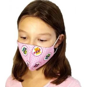 ΠΝΟΗ Μάσκες Προστασίας μιας Χρήσης Παιδικά Σχέδια Koριτσι για Ηλικίες 3-6 έτη,2τεμ.