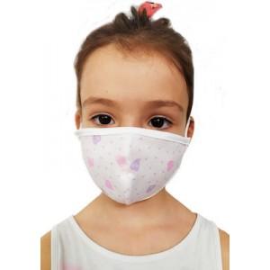 ΠΝΟΗ Μάσκες Προστασίας μιας Χρήσης Παιδικά Σχέδια για Ηλικίες 6 -12 έτη,2τεμ.