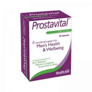 HEALTH AID Prostavital capsules 90's blister - Economy