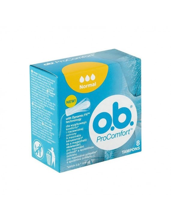 O.B. OB ProComfort Normal 8τμχ