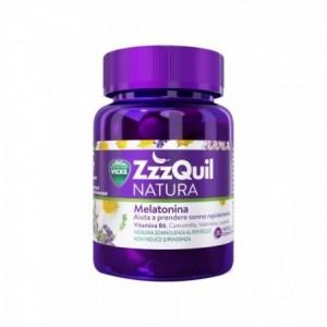 ZzzQuil NATURA Συμπλήρωμα Διατροφής με Μελατονίνη, 30 ζελεδάκια